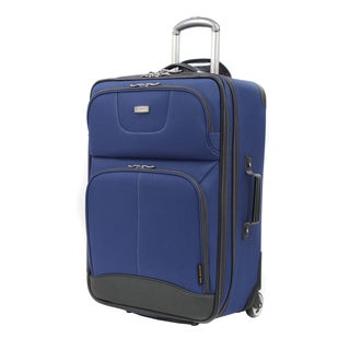 Ricardo Beverly Hills Navy Valencia Lite 25-inch Rolling Upright Suitcase
