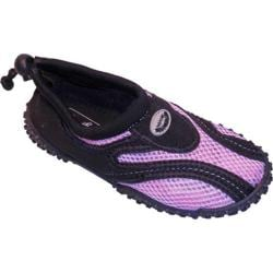 Children's Easy USA Water Shoes/Aqua Socks (2 Pairs) Lavender