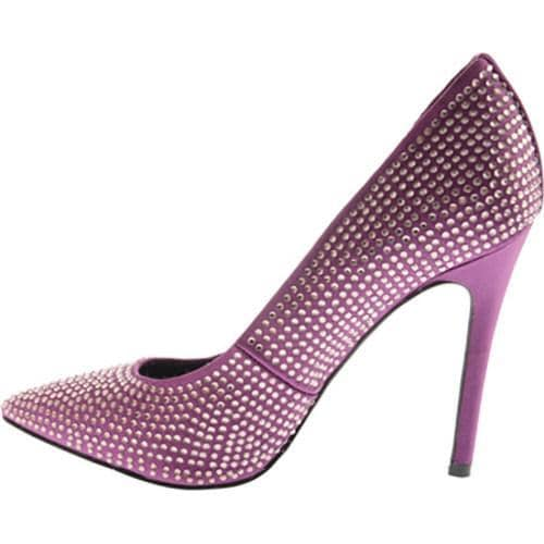 Women's Nine West Glitterbig Purple Satin