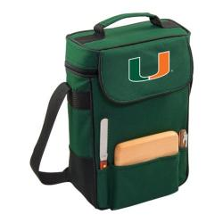 Picnic Time Duet Miami Hurricanes Print Hunter Green