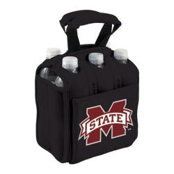 Picnic Time Six Pack Mississippi State Bulldogs Black