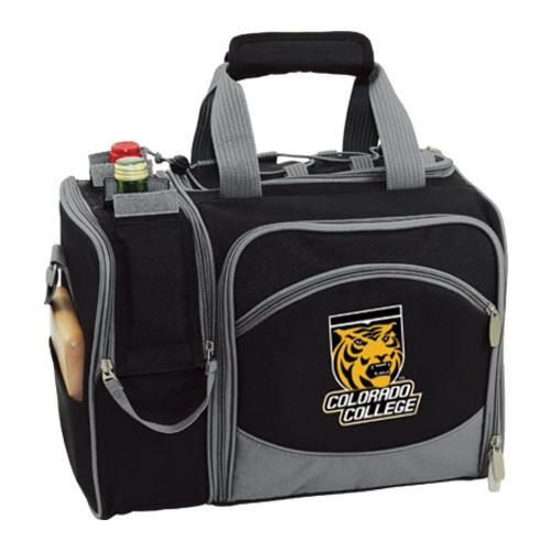 Picnic Time Malibu Colorado College Tigers Print Black
