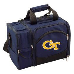 Picnic Time Malibu Georgia Tech Yellow Jackets Embroidered Navy