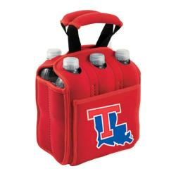 Picnic Time Six Pack Louisiana Tech Bulldogs Red
