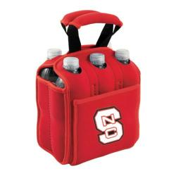 Picnic Time Six Pack NC State University Wolfpack Red