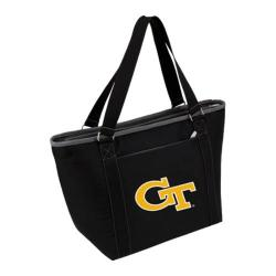 Picnic Time Topanga Georgia Tech Yellow Jackets Embroidered Black