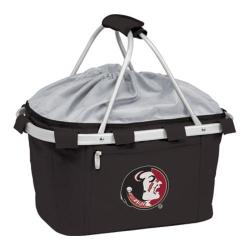 Picnic Time Metro Basket Florida State Seminoles Embroidered Black