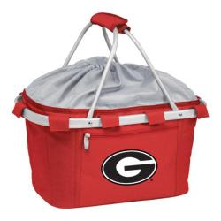 Picnic Time Metro Basket Georgia Bulldogs Print Red