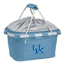 Picnic Time Metro Basket Kentucky Wildcats Embroidered Sky Blue