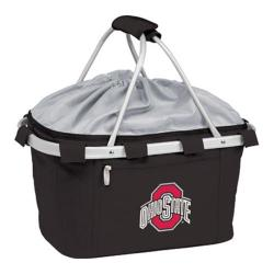 Picnic Time Metro Basket Ohio State Buckeyes Embroidered Black