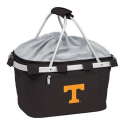 Picnic Time Metro Basket Tennessee Volunters Embroidered Black