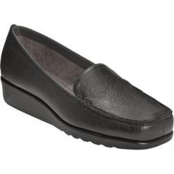 Women's A2 by Aerosoles Gondola Black Synthetic