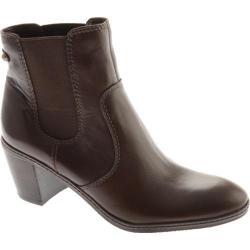 Women's Anne Klein Bunty Dark Brown Leather