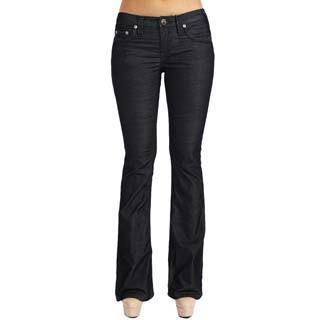 Stitch's Designer Women's Dark Washed Boot Cut Jeans