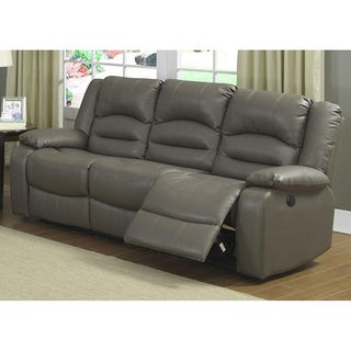 Axle Dual Reclining Power Sofa