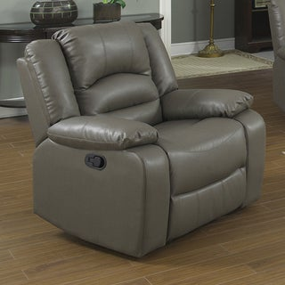 Axel Bonded Leather Recliner Chair