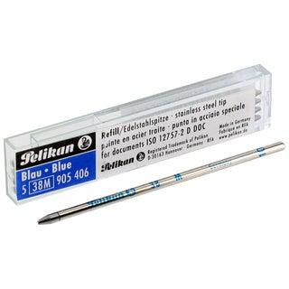 Pelikan Ballpoint Pen Blue Ink Refills (Set of 5)