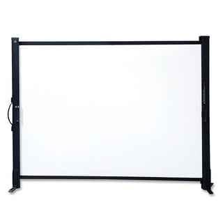 Quartet Portable Canvas Tabletop Projection Screen
