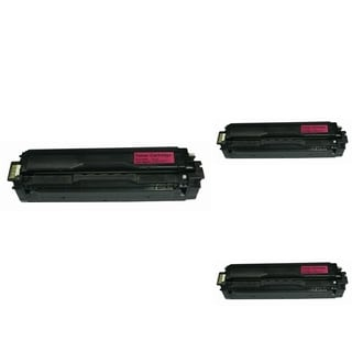BasAcc Magenta Toner Cartridge Compatible with Samsung CLT-M504S