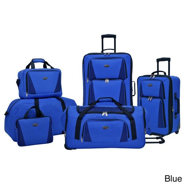 U.S. Traveler by Traveler's Choice Palencia 5-piece Luggage Set