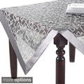 Geometric Design Table Linens- Topper or Runner or Tablecloth