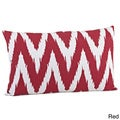 Chevron Design Down Fill Throw Pillow