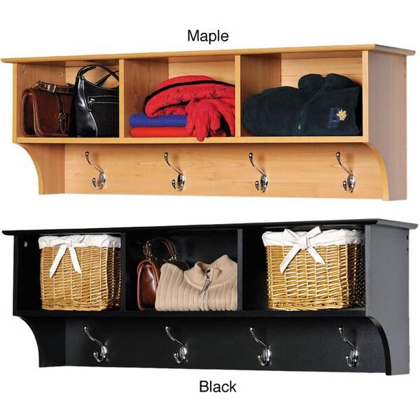 Entryway Cubbie Shelf