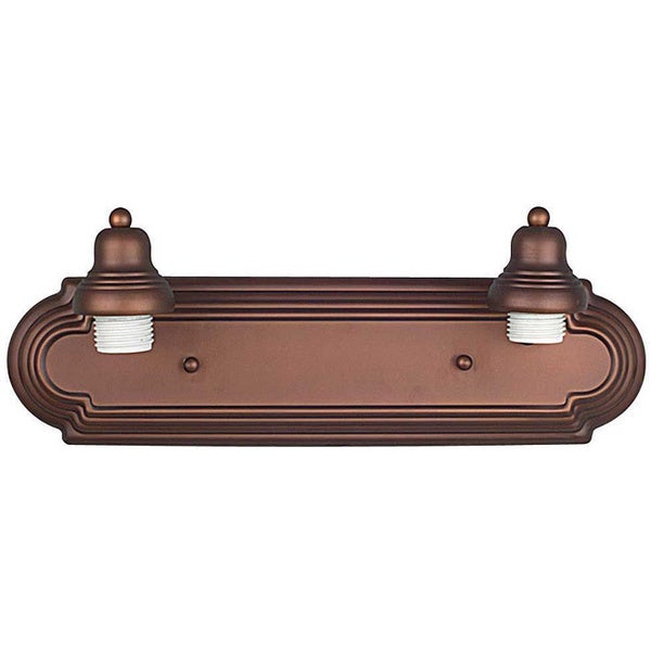 2-light Bronze Race Track Light