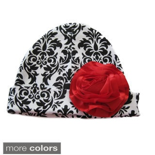 Holiday Black Tie Cotton Hat