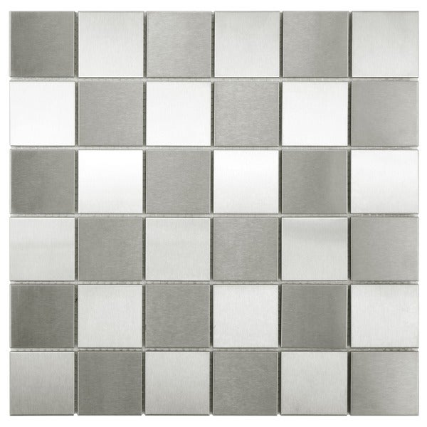 Somertile 11 875x11 875 Inch Checkerboard Mega Square