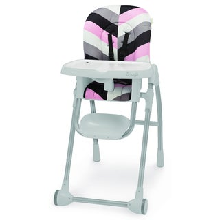 Snugli High Chair Pad in Pink Geo