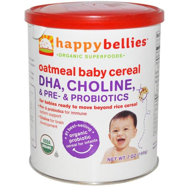 Happy Bellies Oatmeal Cereal