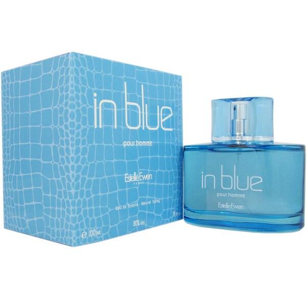Estelle Ewen In Blue Men's 3.4-ounce Eau de Toilette Spray