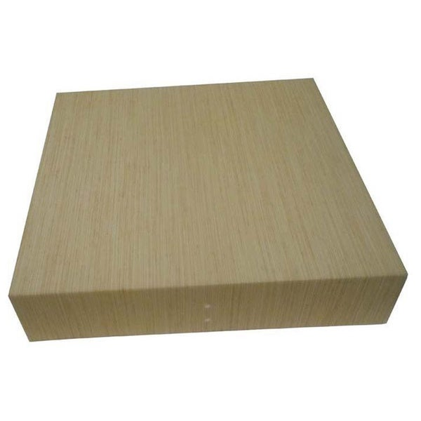 13-Inch Tan Square Fabric Diffuser
