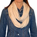 Solid Soft Knit Infinity Scarf
