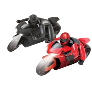 Black Series Remote Control Racing Motorcycle