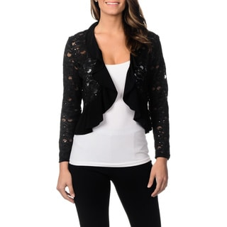 R&M Richards Women's Lace Shrug