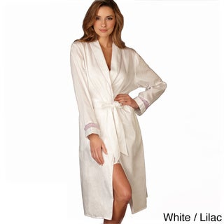 Julianna Rae Women's Showers Cotton Robe