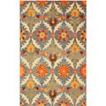 EORC Hand Tufted Wool Morgan Rug (5' x 8')