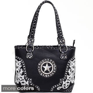 Rhinestone Star Western Studded Shoulder Bag