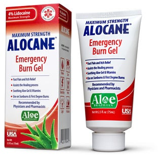 Alocane Maximum Strength Emergency Room 2.5-ounce Burn Gel (Pack of 2)
