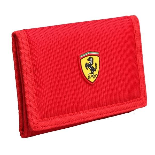 Ferrari Red Keyholder Wallet