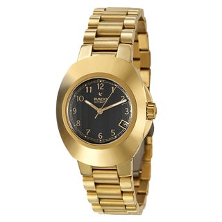 Rado Men's 'Original' Yellow/Goldtone PVD-coated Stainless Steel Automatic Calendar Watch