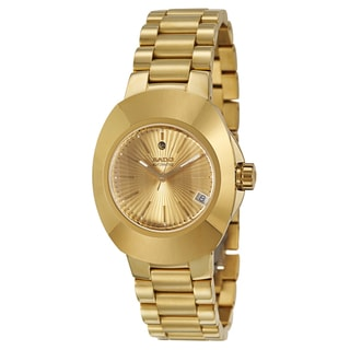Rado Men's 'Original' Yellow/ Goldtone PVD Coated Stainless Steel Automatic Watch
