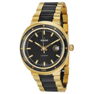 Rado Men's 'D-Star' Yellow/ Goldtone PVD Coated Automatic Watch