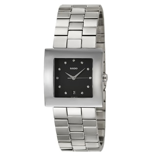 Rado Men's 'Diastar Jubile' Stainless Steel Quartz Watch