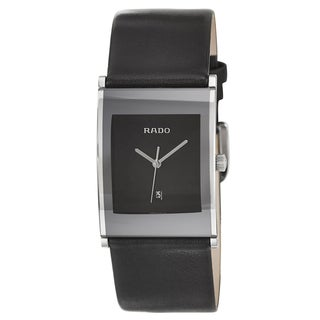 Rado Men's 'Integral' Stainless Steel Quartz Watch