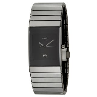 Rado Men's 'Ceramica' Ceramic Quartz Watch