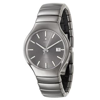 Rado Men's 'Rado True' Dark Gray Ceramic Automatic Watch