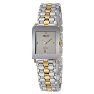 Rado Women's 'Florence Jubile' Yellow/ Goldtone Stainless Steel Watch